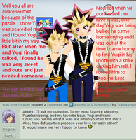 Question#14-How did we come together by YugixYamiLove4ever