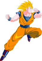 Son Goku vectorizado by JayC79