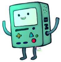 Adventure time: BMO by SimmyDraws