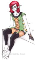 Young Kassie by fanchielover15