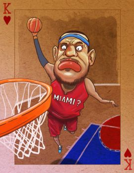 Lebron James - Resigning with Miami? by dimsumdemon