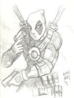 DEADPOOLrough by Mightyfox-Rixou
