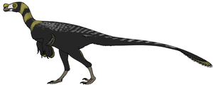 Ornitholestes by StygimolochSpinifer