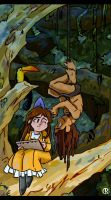 What If: Tarzan and Jane Childhood by Anubis-005
