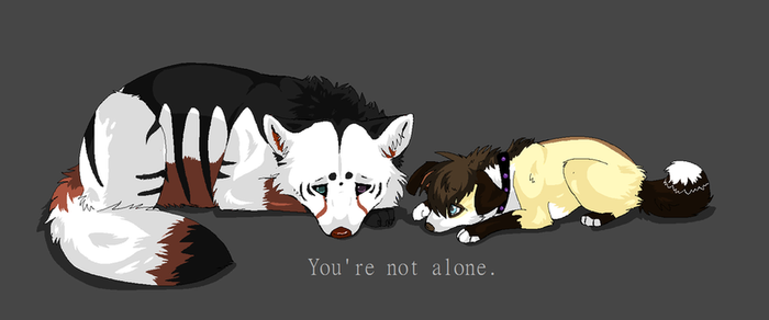 Not Alone by Lost-Wolf-Soul