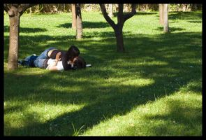 Grassy Couple by Vagrant123