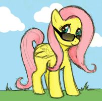 Fluttershy is cool too by Summershineftw
