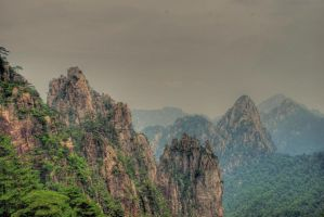 Huangshan IV by NullCoding