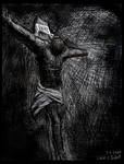 The Crucifixion 001 by LucasCGabetArts