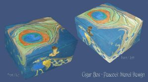CigarBox - Peacock by BabyGig