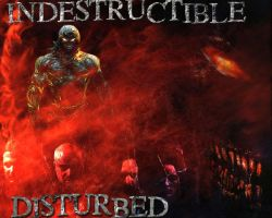 Disturbed Indestructible Wall by shadowsfall720