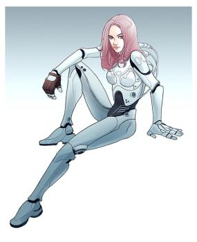 Cyborg babe by mannequin-atelier