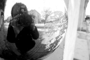 Me in a globe. by AvaHtH