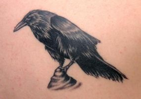 Raven 2 by DarkSunTattoo