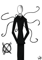 Slenderman by Lutrasauro