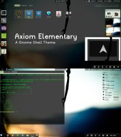 Axiom Elementary - Gnome Shell Theme by axiom613
