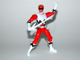 Red Galaxy Ranger Action Hero by LinearRanger