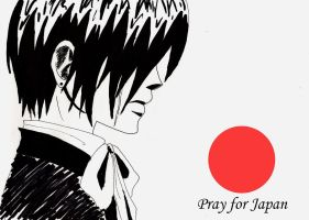 Pray for Japan by BankaiShinigami