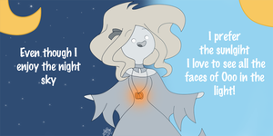Question: Daytime Ghostly by ChloeCorp