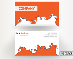 Corporate Business Card Design by Stockgraphicdesigns