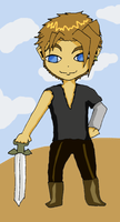 Wind Waker style Vaan by THUNDRkitty
