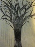 A tree doodle. by crystalbluedisguise