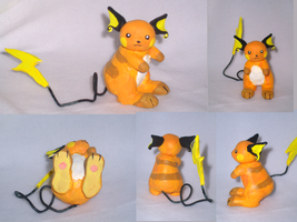 New Clay Raichu by VengefulSpirits