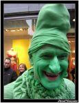 Green Smurf 1 by Pascalino