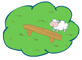Counting sheeps (animated) by renzus