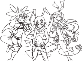 Print Thumbnail - Disgaea by SonicRocksMySocks