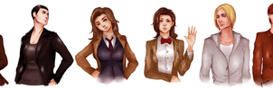 doctor who character genderbent by potatonyaa