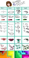 How To: Eyes and Lips by pookalook