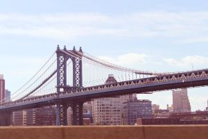 Manhattan Bridge by JohnnyNiffer