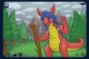 Comm: Saki Outdoors by the-b3ing