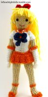 Sailor Venus by leftandrightdolls
