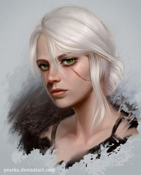 Ciri - Witcher 3 by ynorka