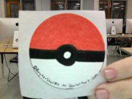Pokeball Sticker For Sale by rayne-storme
