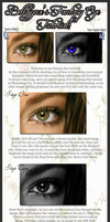 Fantasy Eye Tutorial! by bellajynx