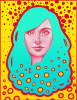 Pop Self Portrait by Jackie-Blaire