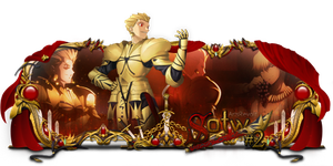 Sign Sotw#2 - Gilgamesh (Fate Stay Night) by kryser