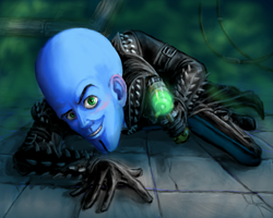 Megamind by furball891