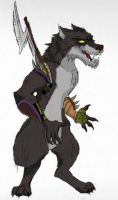 Worgen by WulfFather