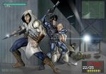 Metal Gear Solid vs Hitman vs Assassin's Creed etc by DaveJorel