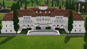 Sims 3 Luxury mansion by RamboRocky