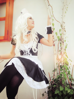 [Costume] White Maid (4) by Book-No00