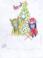CHRISTMAS CONTEST by angelshadow18