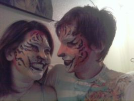 Twin Tigers by HarlequinTears1981