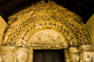 St. Helena's Church - South doorway Tympanum by NickField