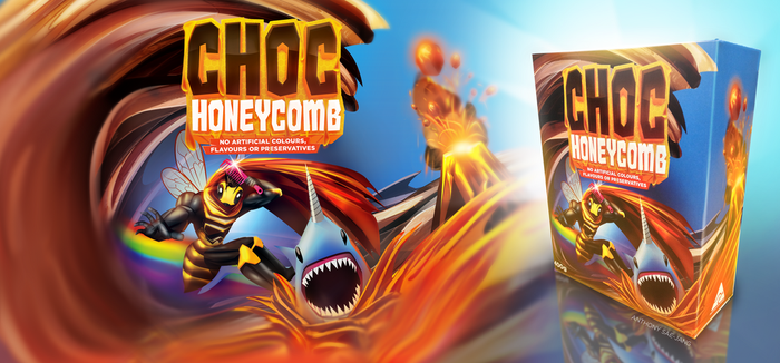 Choc Honeycomb Package Redesign by SUPERsaeJANG