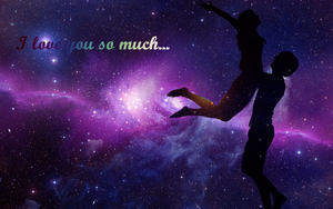 I love you so much wallpaper by CeriseEliCore